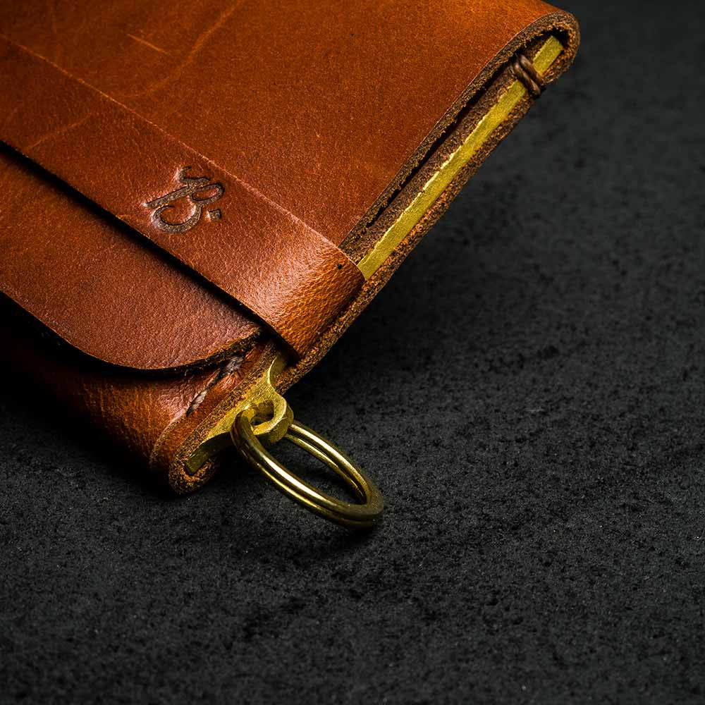 + Carteira Single Pocket T-BROWN - BRAVEMAN LEATHER GOODS