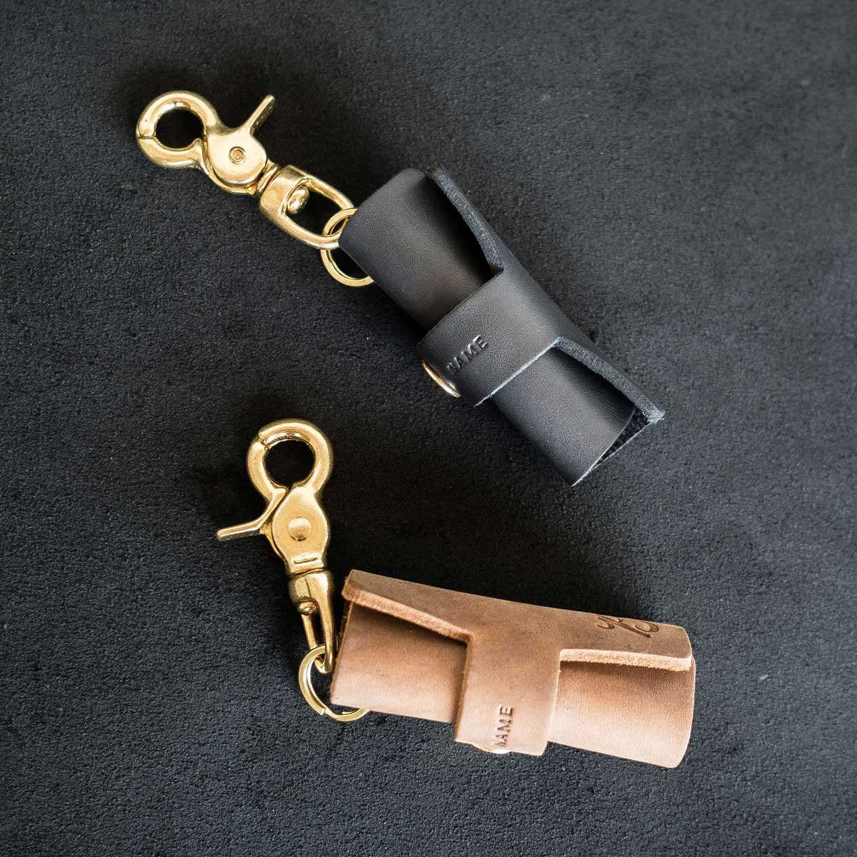 Chaveiro - ROLL KEYCHAIN - BRAVEMAN LEATHER GOODS