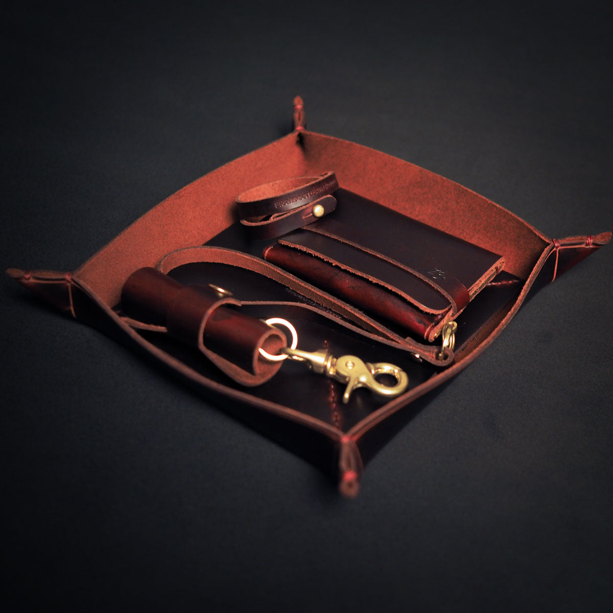 + Pack FULL BLOOD / ENGRAVED - BRAVEMAN LEATHER GOODS