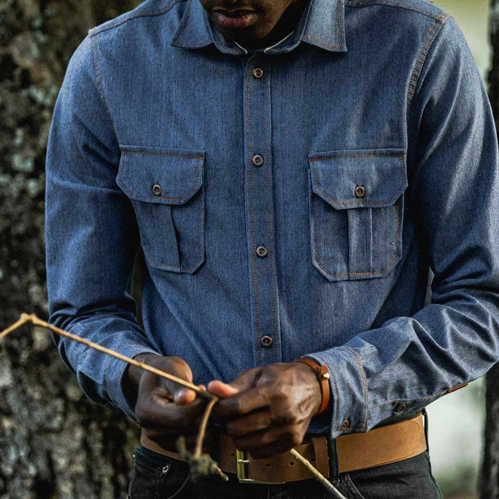 + Camisa DENIM T-BROWN - BRUMA x BRAVEMAN