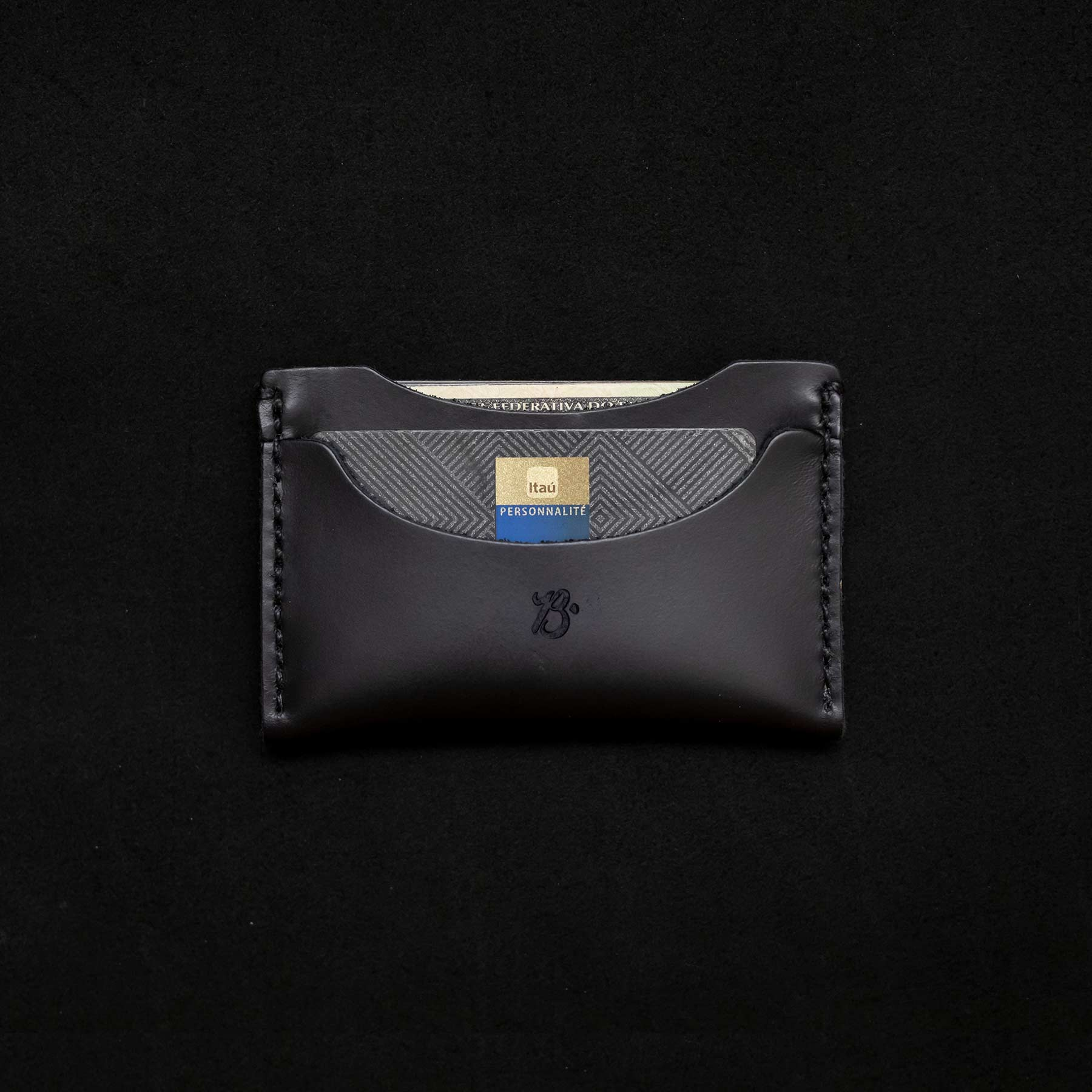 Carteira Card Holder ALLBLACK