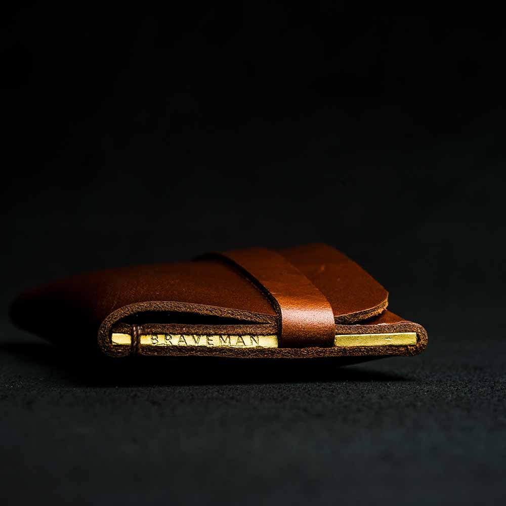 + Carteira Single Pocket SIGNATURE EDITION - BRAVEMAN LEATHER GOODS
