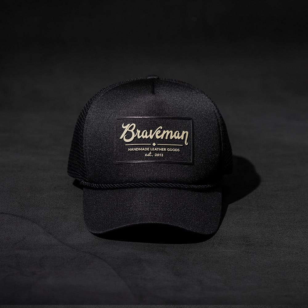 HAT TRUCKER BLACK