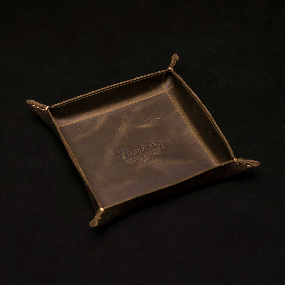 EDC Table Tray - OLD INDIAN - BRAVEMAN LEATHER GOODS