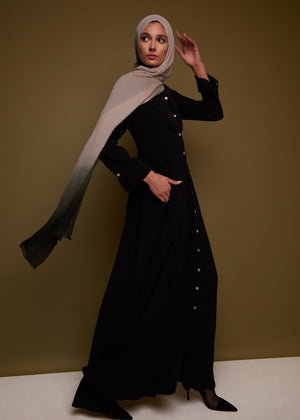 Cascara Abaya in Black by Aab