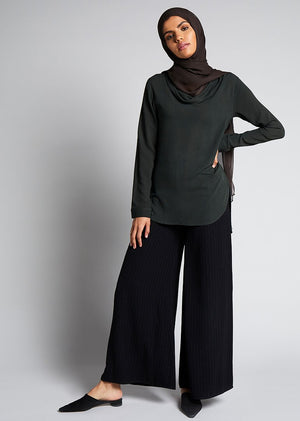 Cowl Top Green