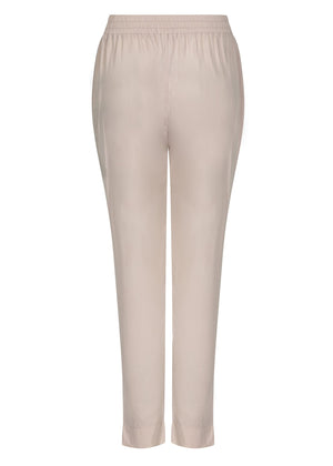 Gold Button Trousers in Cashmere by Aab
