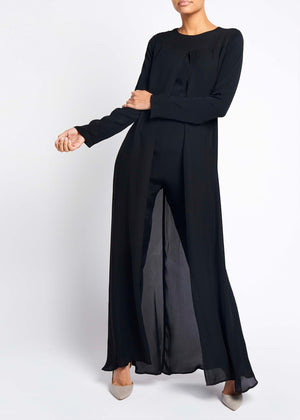 Jumpsuit With Overlay