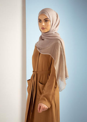 Lapel Shirt Dress Tan Aab