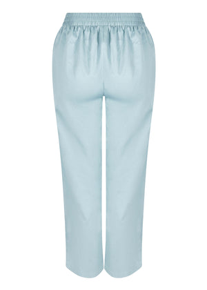 Loose Fit Trousers Blue by Aab