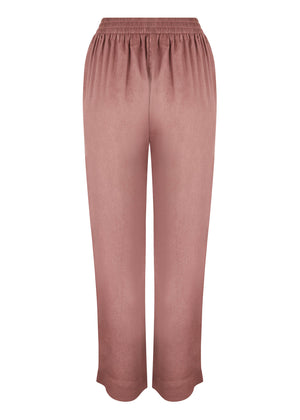 Loose Fit Trousers Peach Mocha