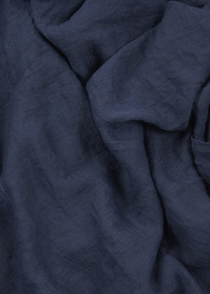 Navy Soft Cotton Hijab