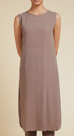 Slip Dress Raw Taupe