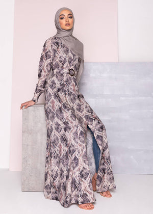 Serpentine Maxi Dress Aab