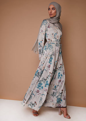Vintage Bouquet Maxi Dress