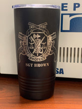 Load image into Gallery viewer, Army - Military Police Tumbler 20oz - Pikes Peak Laser Creations