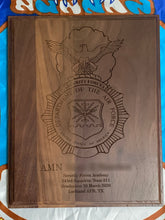 Load image into Gallery viewer, Air Force - Security Forces Badge Plaque - Pikes Peak Laser Creations