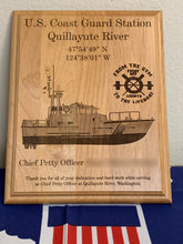 Load image into Gallery viewer, Coast Guard - PCS/ETS Plaque - Pikes Peak Laser Creations