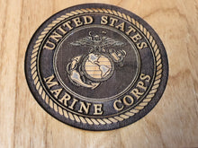 Load image into Gallery viewer, Marine Corps - NCO Creed Plaque - Pikes Peak Laser Creations