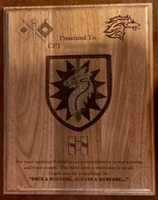 Load image into Gallery viewer, Army - PCS/ETS Plaque - Pikes Peak Laser Creations