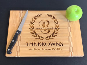 Family Name Laurel - Cutting Board - Pikes Peak Laser Creations