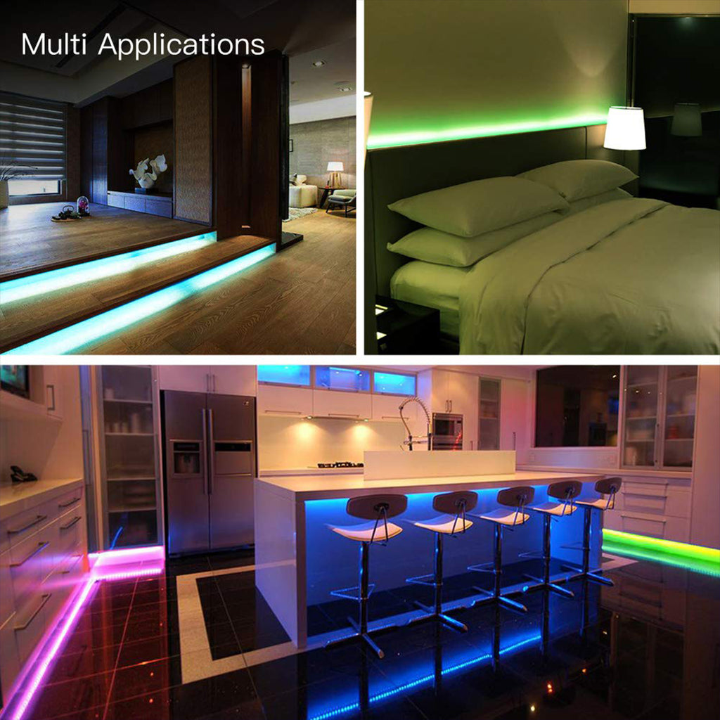 TikTok LED Light Strip for Room WiFi Smart Control Remote Controller