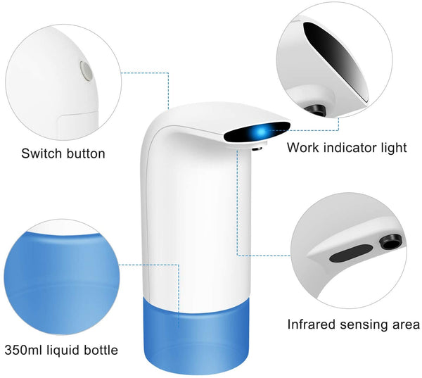 JustKleen™ Automatic Foaming Soap Touch Free Dispenser