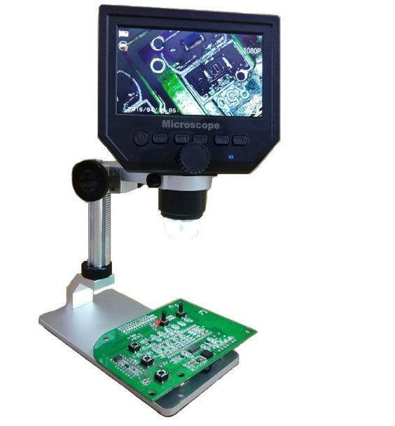 Justool™ Digital USB Microscope Camera With LCD Screen