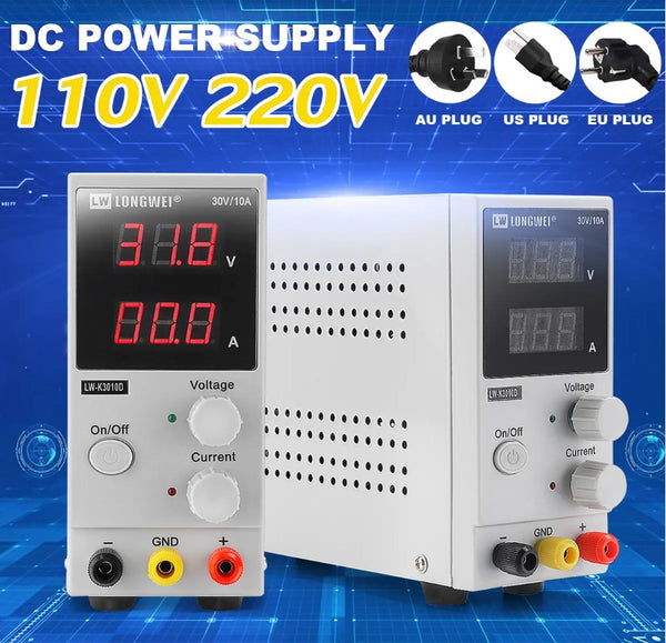 JustBench™ Adjustable DC Power Supply Variable For Benchtop