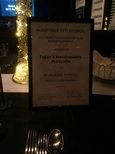 Hurstville City Council - 2013 Excellence in Business Awards - Highly Recommended