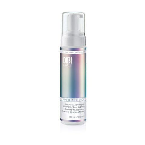 Dibi Milano Skintone Correcting Cleansing Mousse 200ml | White Science | Skin Care | www.tapers.com.au