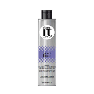 Alfaparf That's It Never Brass Shampoo Cool B/W&G 250ml | Taper's Hairdressers
