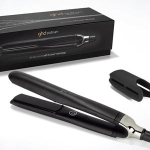 ghd Platinum Black Styler | Hair Straighteners | tapers.com.au