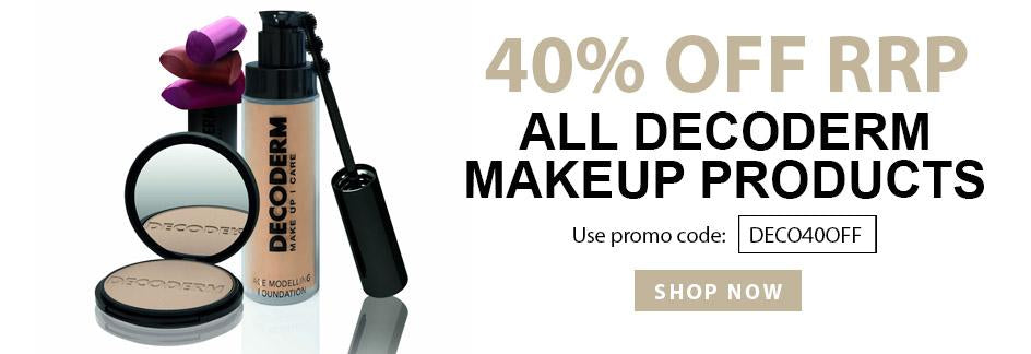 40% OFF ALL DECODERM MAKEUP PRODUCTS