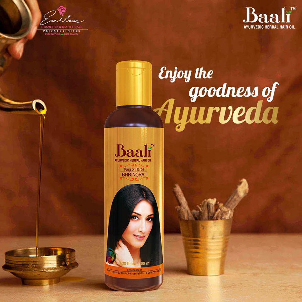 Baali Ayurvedic Herbal Hair Oil