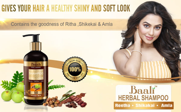Baali Herbal Hair Fall Care Shampoo With Conditioner