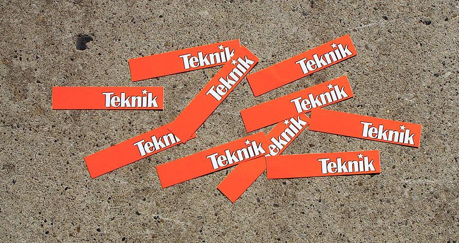 Stickers- Orange Logo