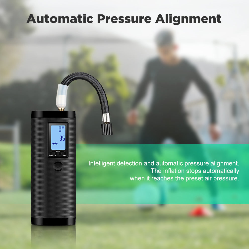 Quick Fill Electric Air Pump for Tires Bicycle Car Motorcycle Bike Truck USB Rechargeable Travel Mini Air Pump