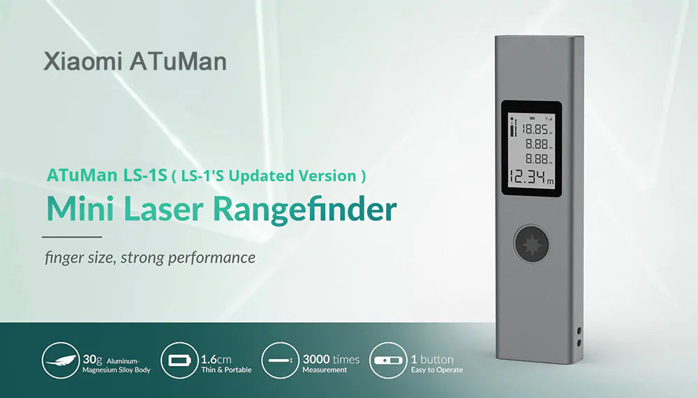 Rechargeable Laser Rangefinder ATuMan LS-1S (LS-1 Updated Version) German iF Design Award