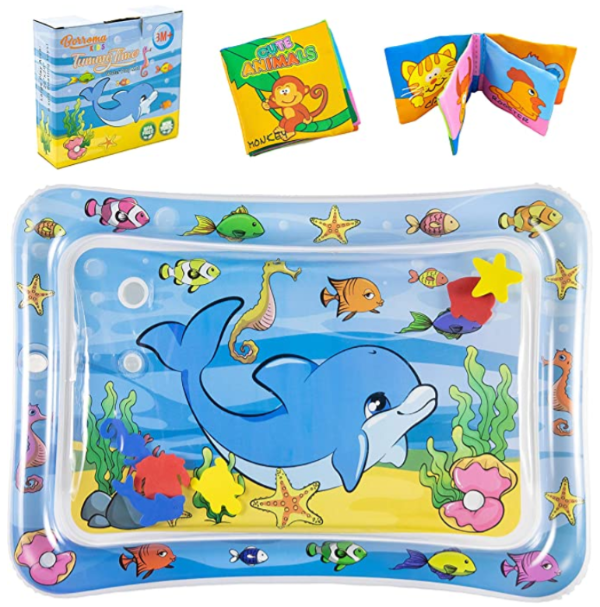 Baby Water Mat Tummy Play Time with Dolphins Under The Sea