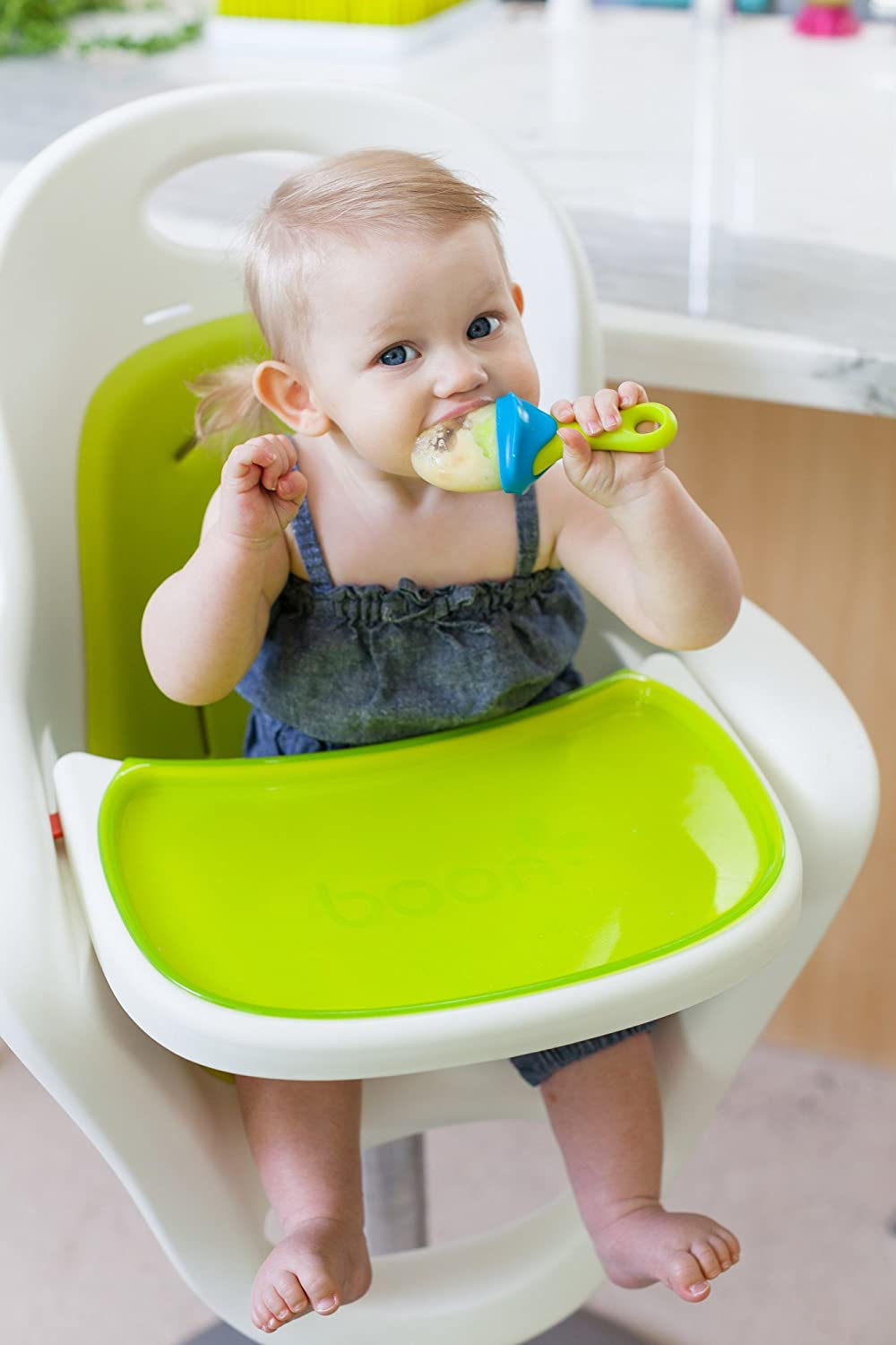 Baby Starts Solid Food Pulp Feeder Silicone No BPA, PVC-free 6m+ & Teething Babies