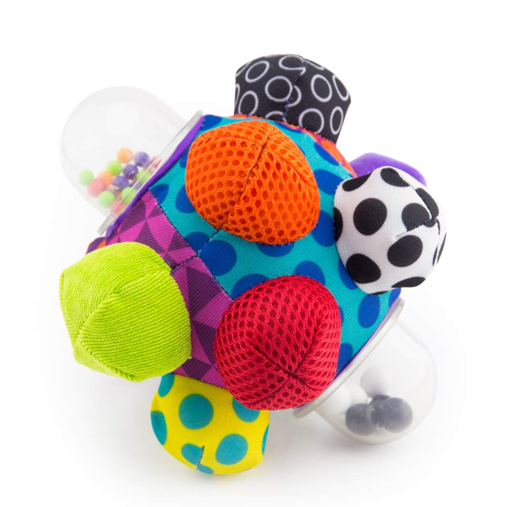 Baby Sensory Toy Play Activity Ball Rattle Helps Develop Motor Skills