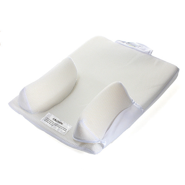 Baby Sleep Positioner Pillow Anti Roll Sleeping Mat Safe Head Back Waist Support