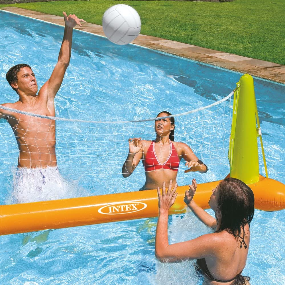 Inflatable Pool Volleyball Game, 94in x 25in x 36in, for Ages 6+