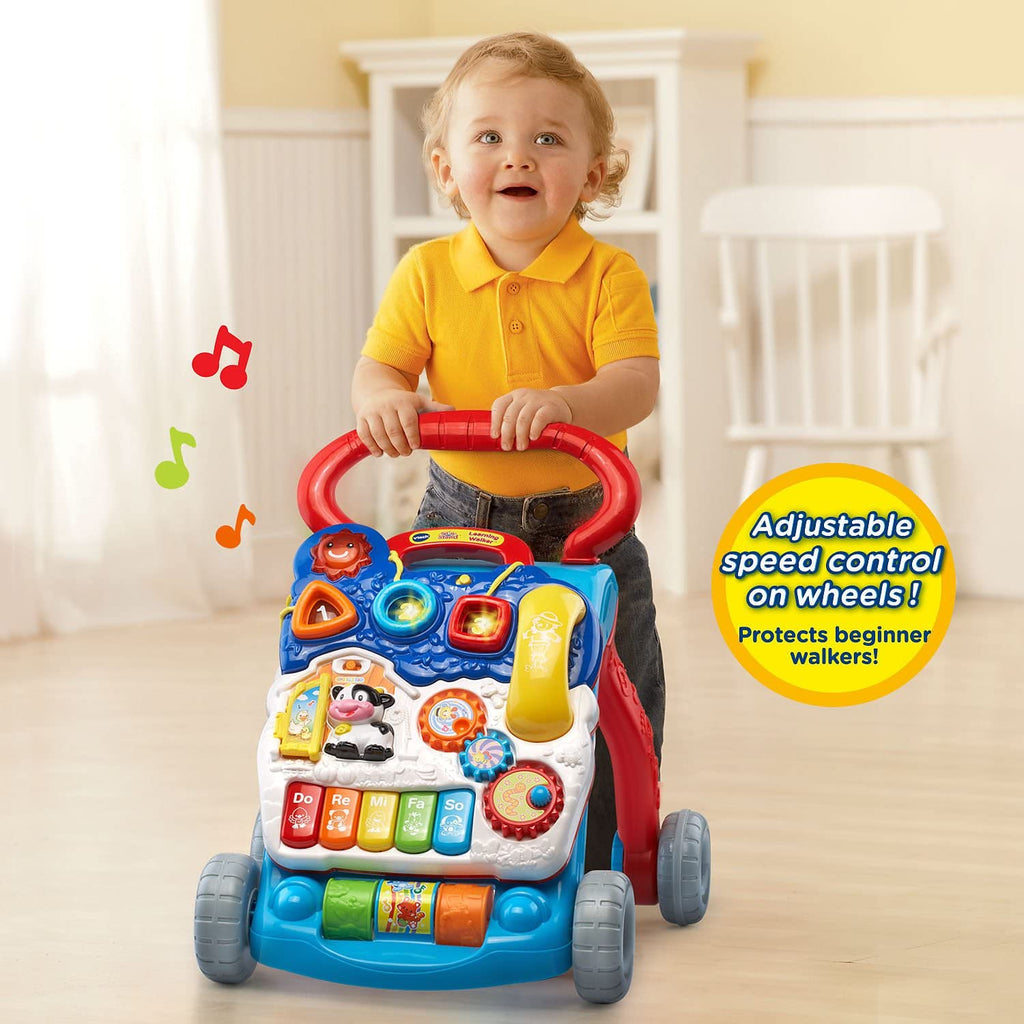 Interactive Learning Walker Toddlers Sit-To-Stand 9 months to 3 years old