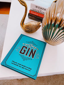 The Bartender's Guide to Gin, carte Gin
