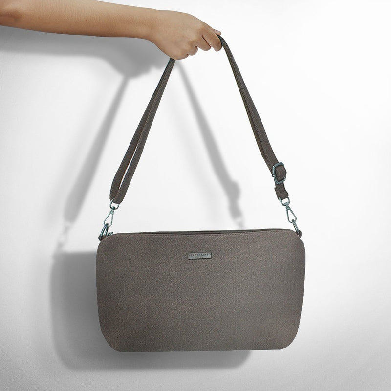 Brown Canva Sling Bag