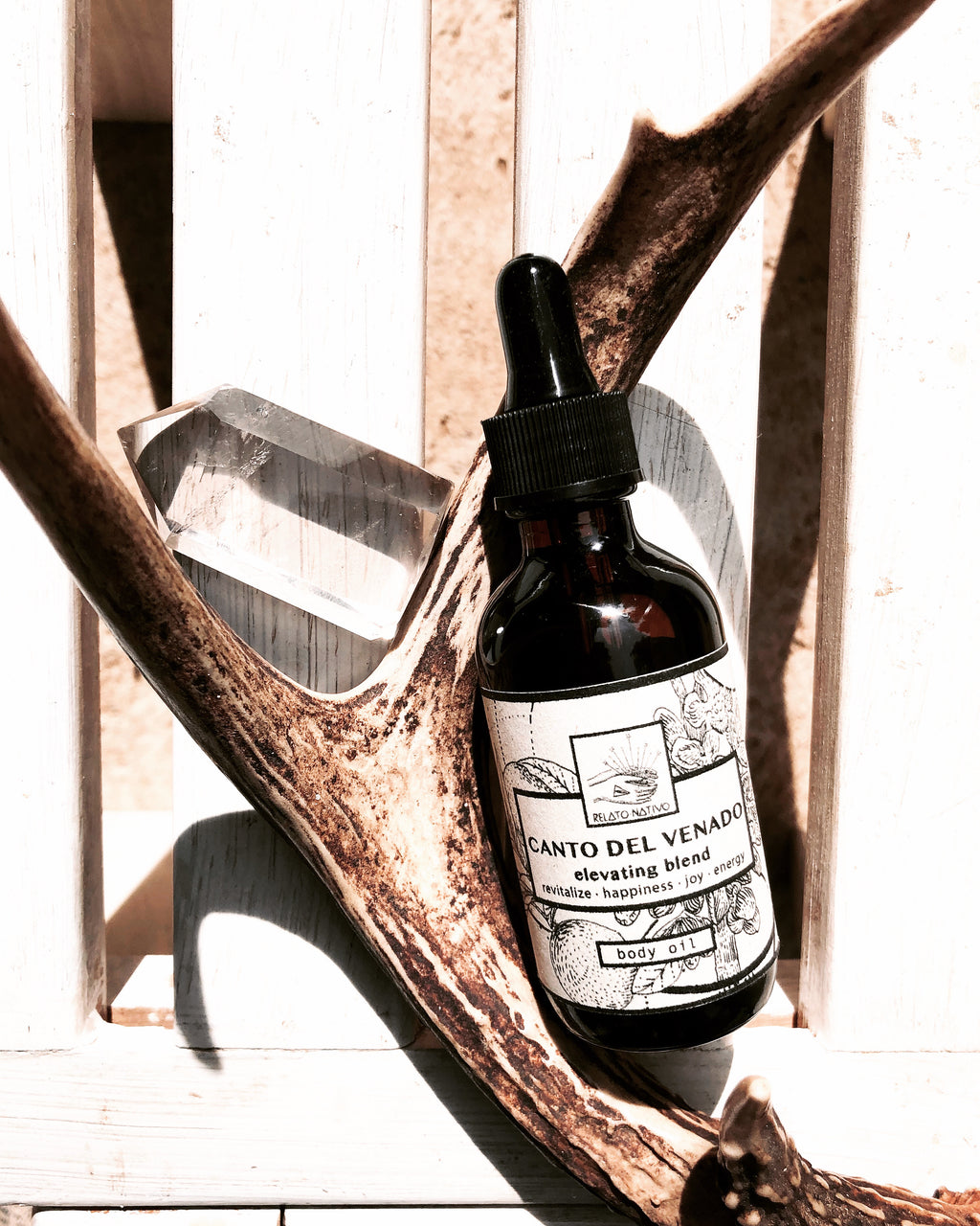 Body Oil CANTO DEL VENADO (Song of the Deer)