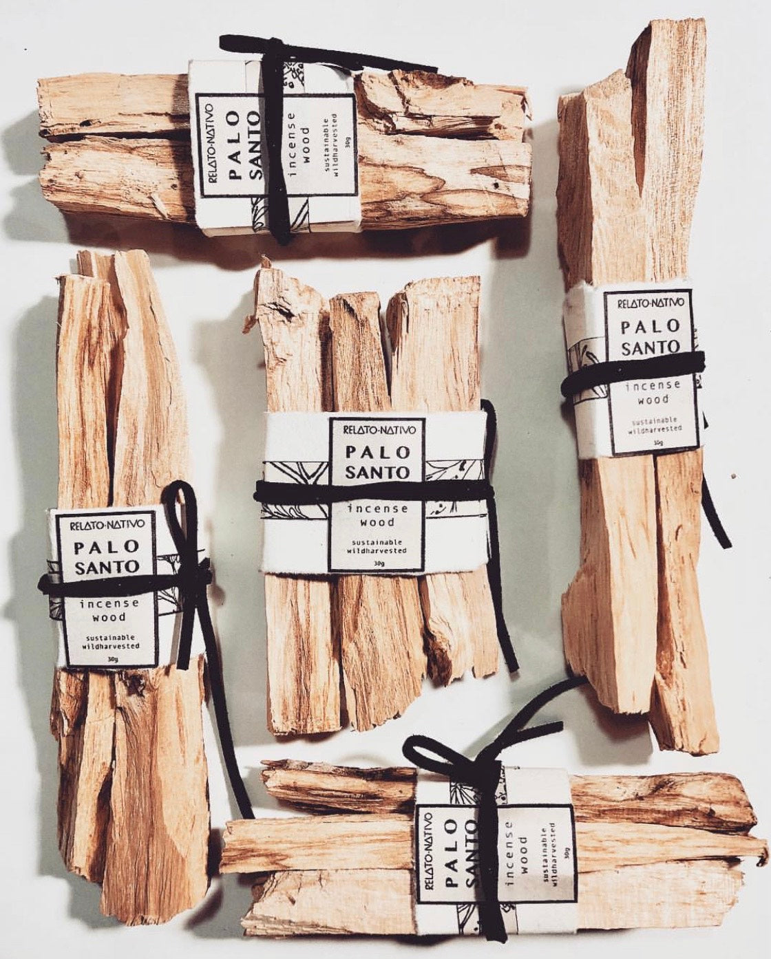 PALO SANTO SUSTAINABLE INCENSE WOOD