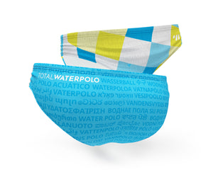 Waterpolo Everywhere <br> Cyan / Lime | RePOOL™